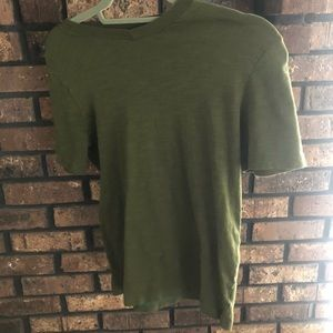 T-shirt  khaki green